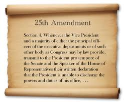 Image result for 25th amendment definition